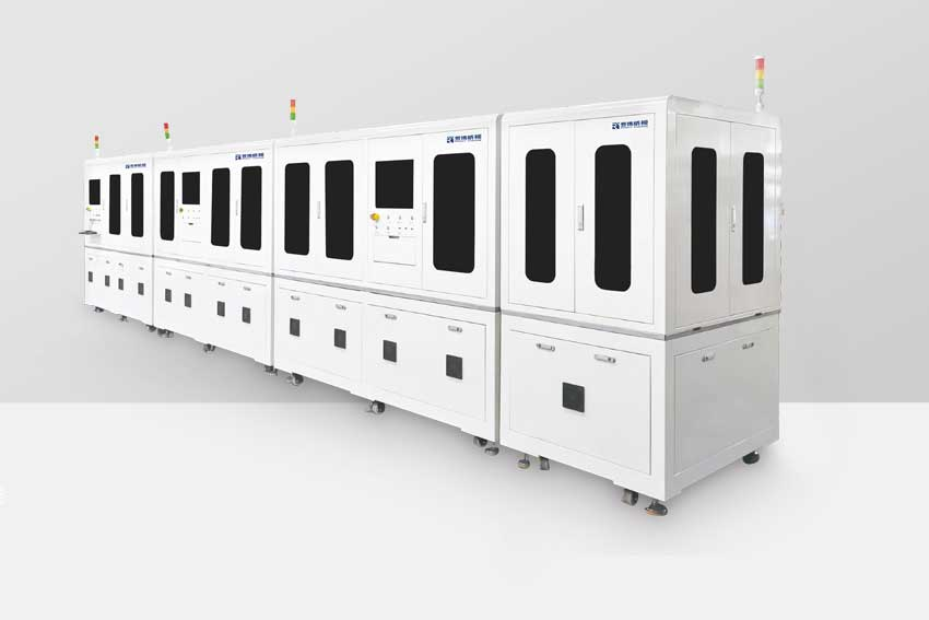 5G Rotary Magnetic Body Assembly Automatic Production Line