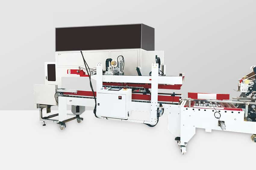 Weighing and scanning automatic production line
