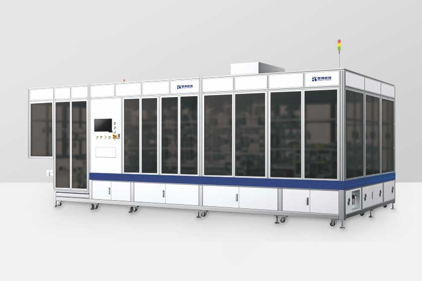 Automatic production line of wireless charging module