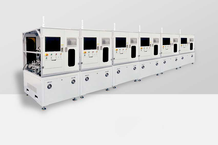 Microwave circulator automatic assembly production line